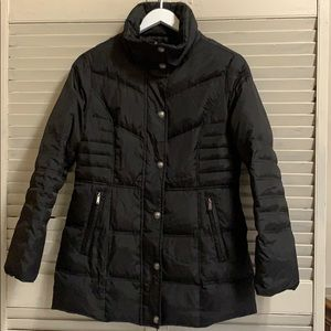 London Fog Down and Feather Filled Puffer Coat